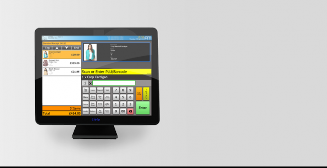 Retail EPoS Systems in Airthrey Castle
